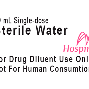 Sterile-Water-Label