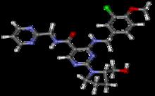 Avanafil Molecule Structure