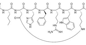 Bremelanotide (PT 141) Molecular Structure