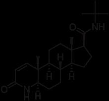 Finasteride Molecule Structure